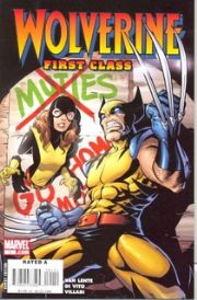 Wolverine First Class #1 (2008) Marvel comic book